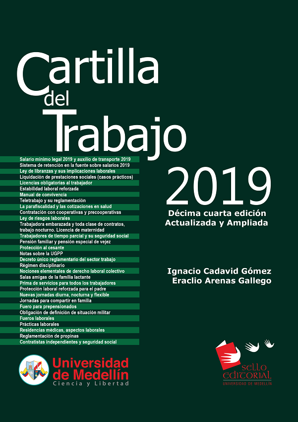 cartilla de trabajo 2019