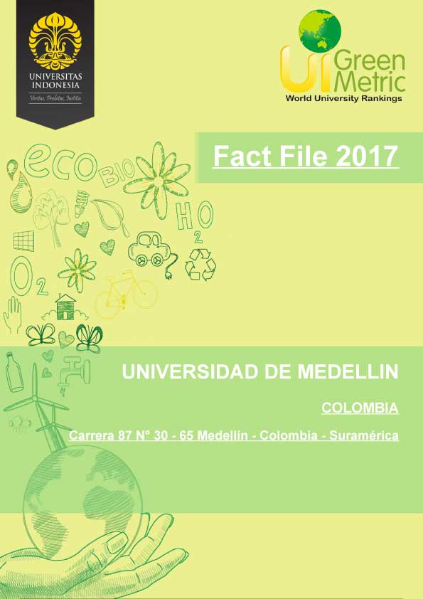 GREENMETRIC factfile udem edu co 2017 full2
